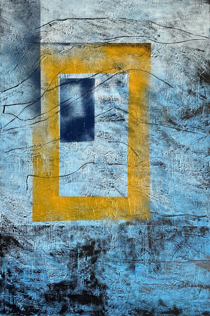 Blue portal, 2017