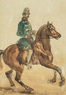 Huzar, ok. 1850-55