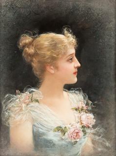 Portret młodej kobiety, 1892 r.