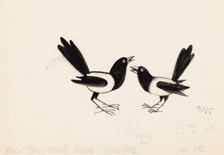 """""""Nowi Przyjaciele Misia Uszatka"""", ilustracja, 1963"""