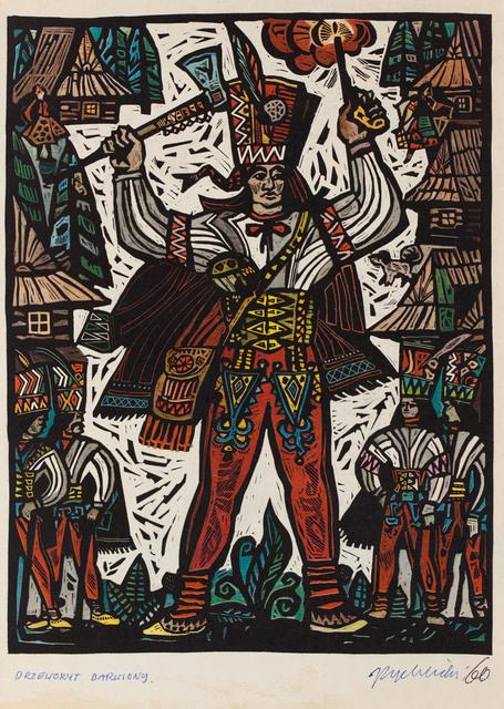 """""""Klechdy domowe. Podania i legendy polskie"""", ilustracja, 1960"""