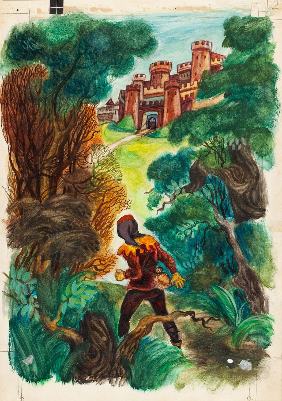 """""""Robin Hood"""", ilustracja, 1953"""