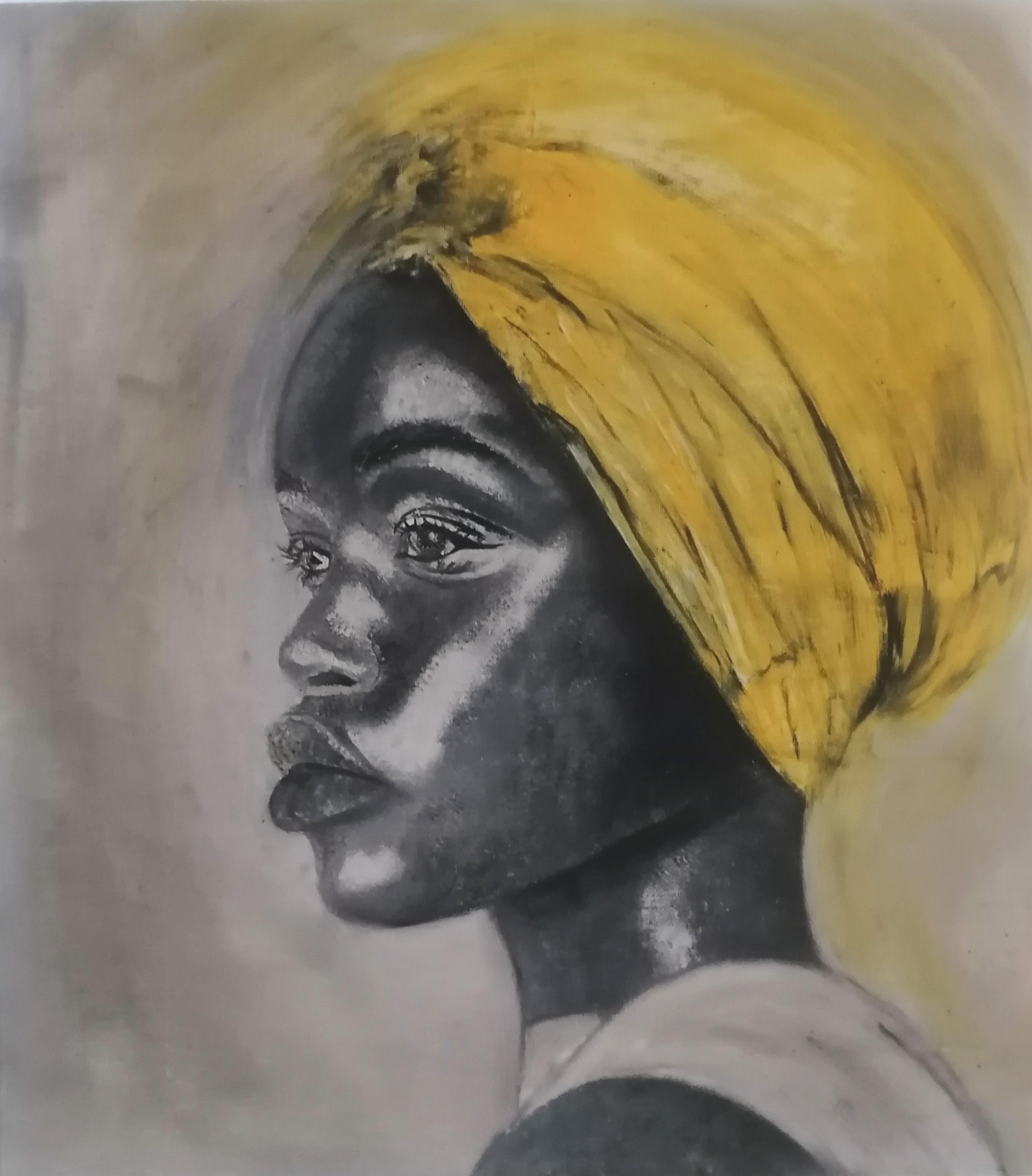 Dziewczyna w żółtym turbanie, 2020