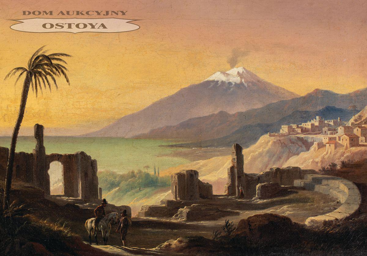 WYSPA ISCHIA, ok. 1835