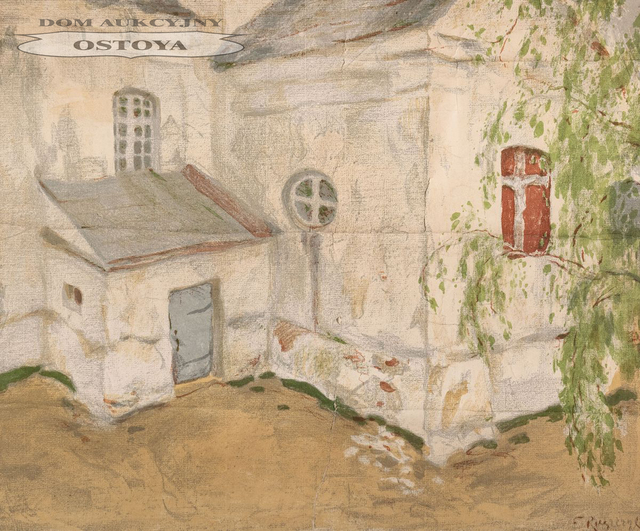KOŚCIÓŁEK NA LITWIE, 1903
