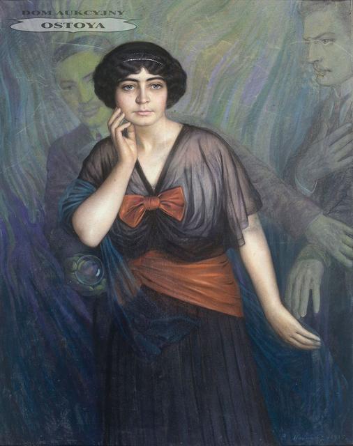 PORTRET PANI M. R., 1915