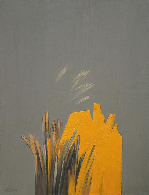 Żółty pejzaż 1, 2016 r.