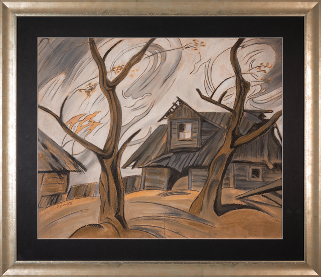 Pejzaż wiejski, 1926 r.
