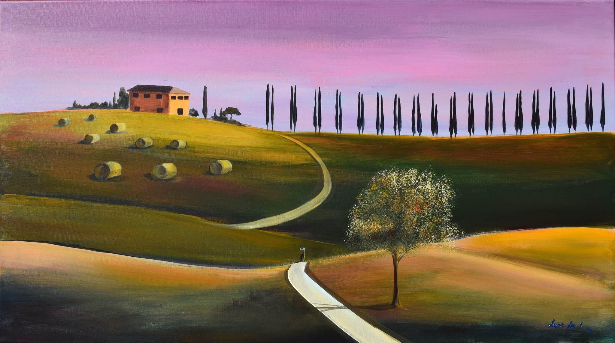 """Fattoria III, z cyklu """"Toskania"""", 2021"""
