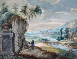 Scena nad rzeką