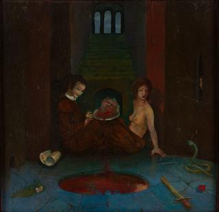 """""""Judyta z głową Holofernesa"""", 1975"""