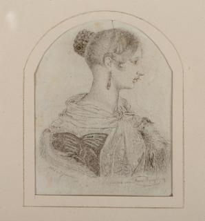 Portret królowej Wiktorii, 1842 r.
