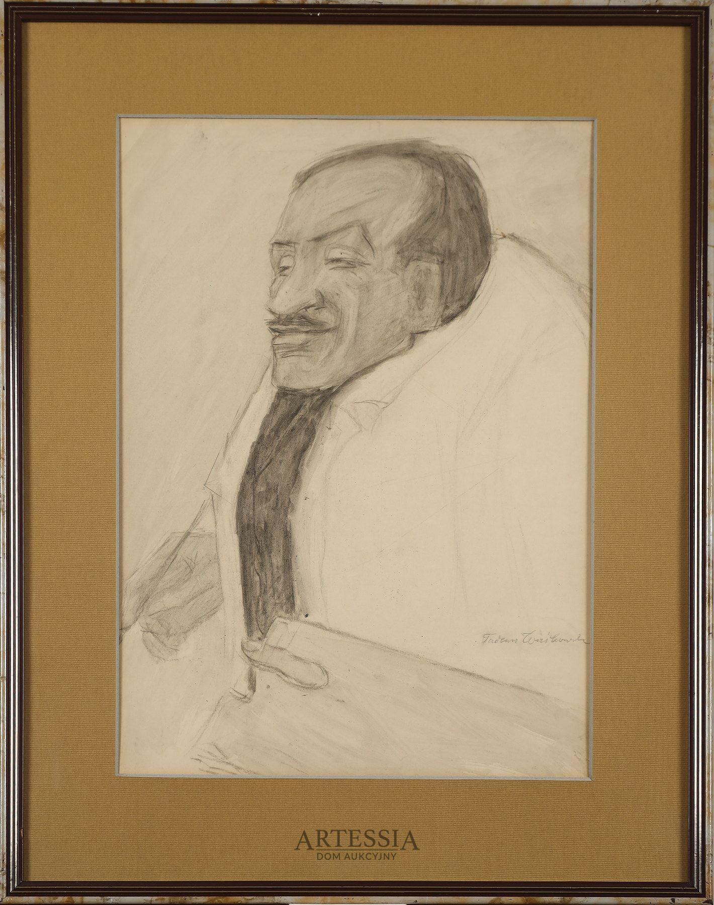 Portret Tytusa Czyżewskiego, 2 ćw. XX w.