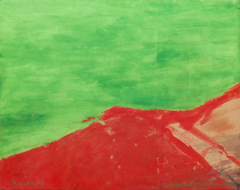 """""""Pejzaż"""", 1968"""