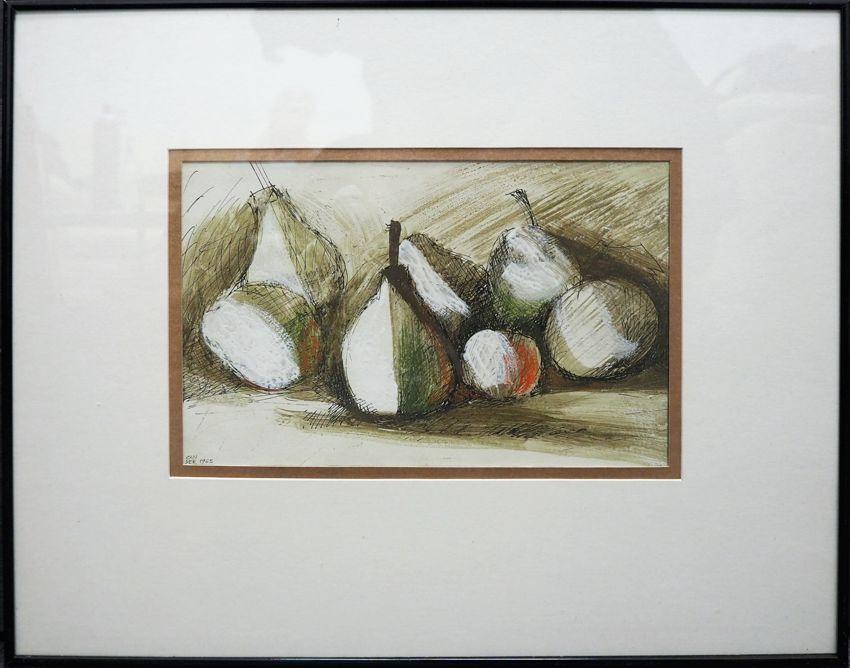Martwa natura z owocami II, 1965 r.