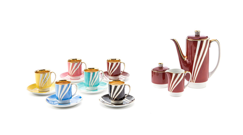 Serwis do kawy 'London' dla 6 osób, lata 60. XX w.