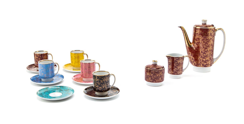 Zestaw kawowy 'London' dla 5 osób, lata 60. XX w.