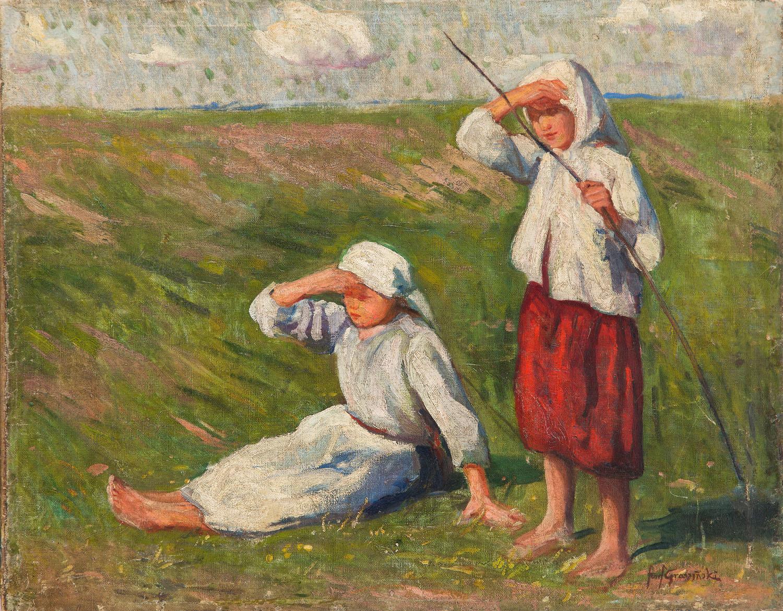 Pasterki na łące