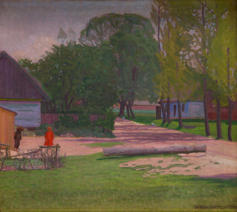 Podwórko, 1912
