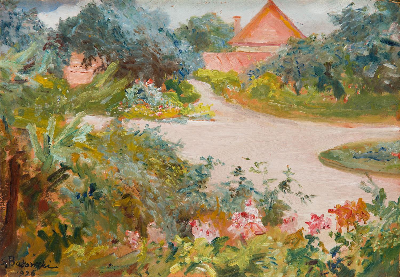 Lato w ogrodzie, 1926