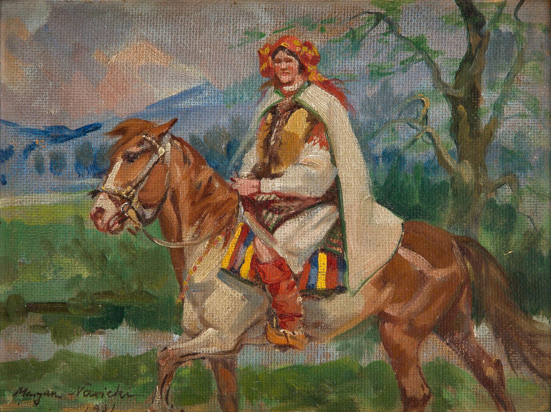 Góralka na koniu, 1931