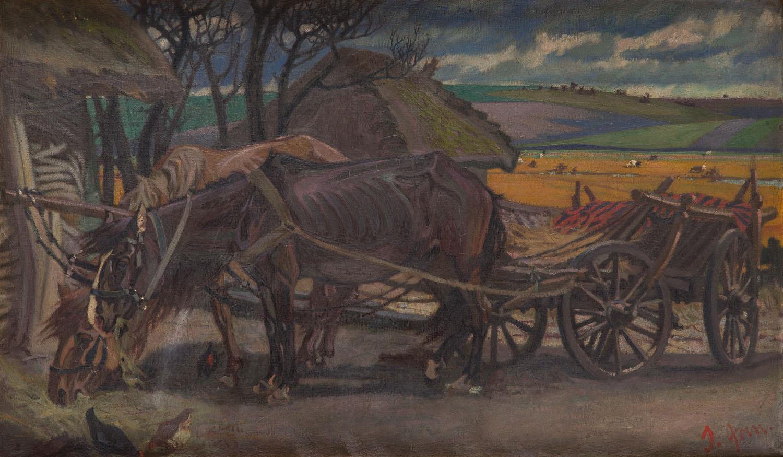 """""""W gościnie"""" , przed/lub 1915"""