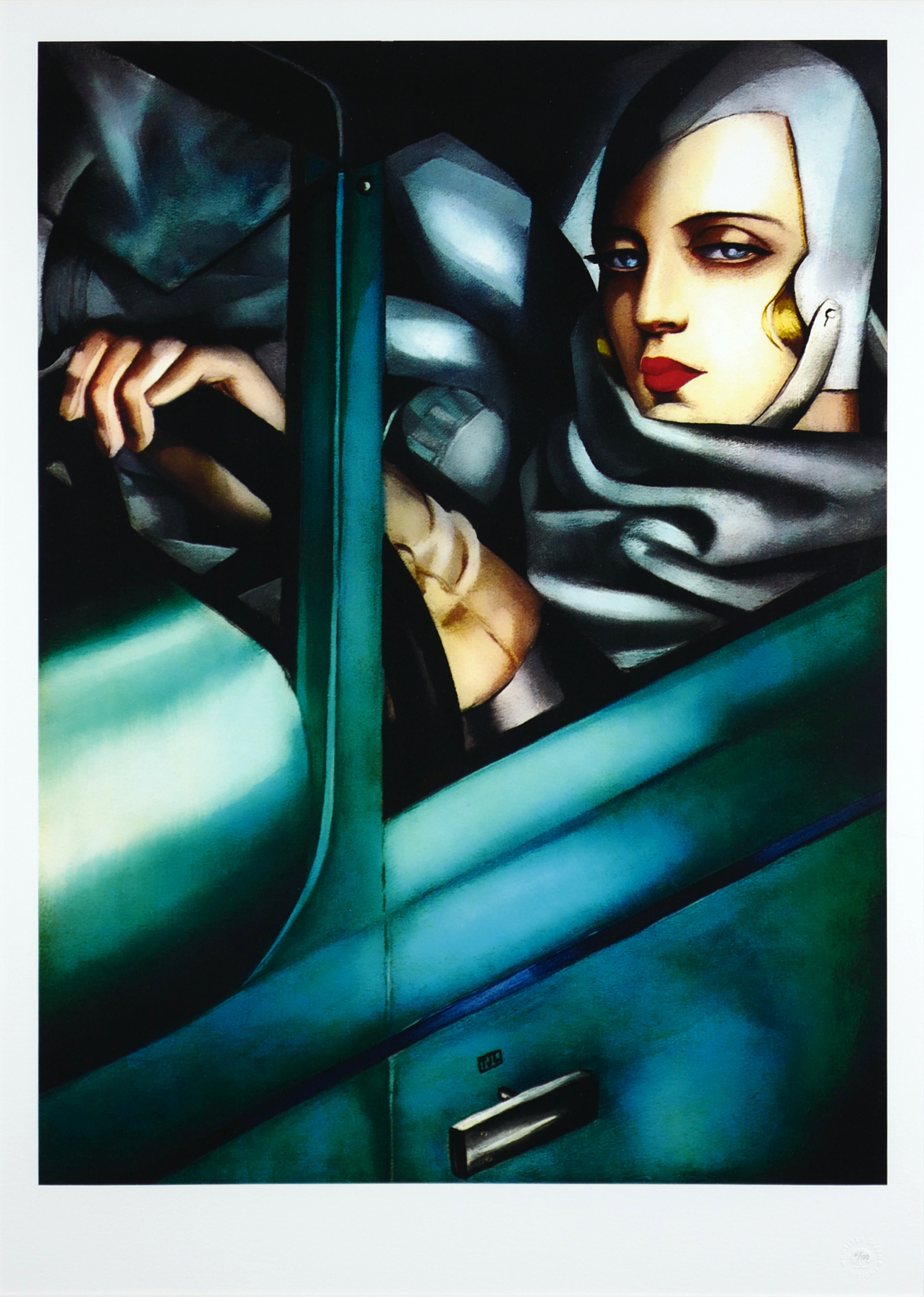 Autoportret w zielonym Bugatti, 1932/2014 r.