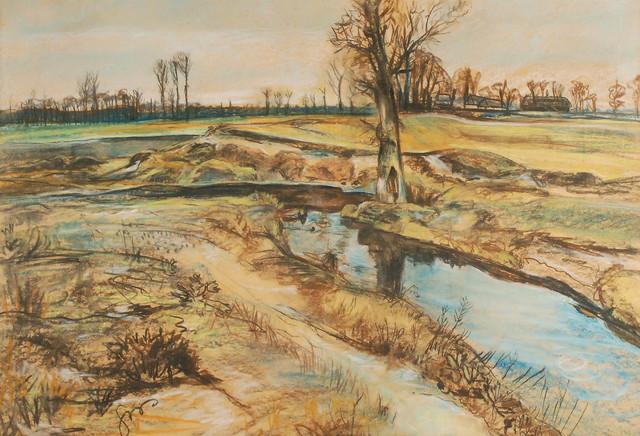 Pejzaż wiosenny, 1906-1907