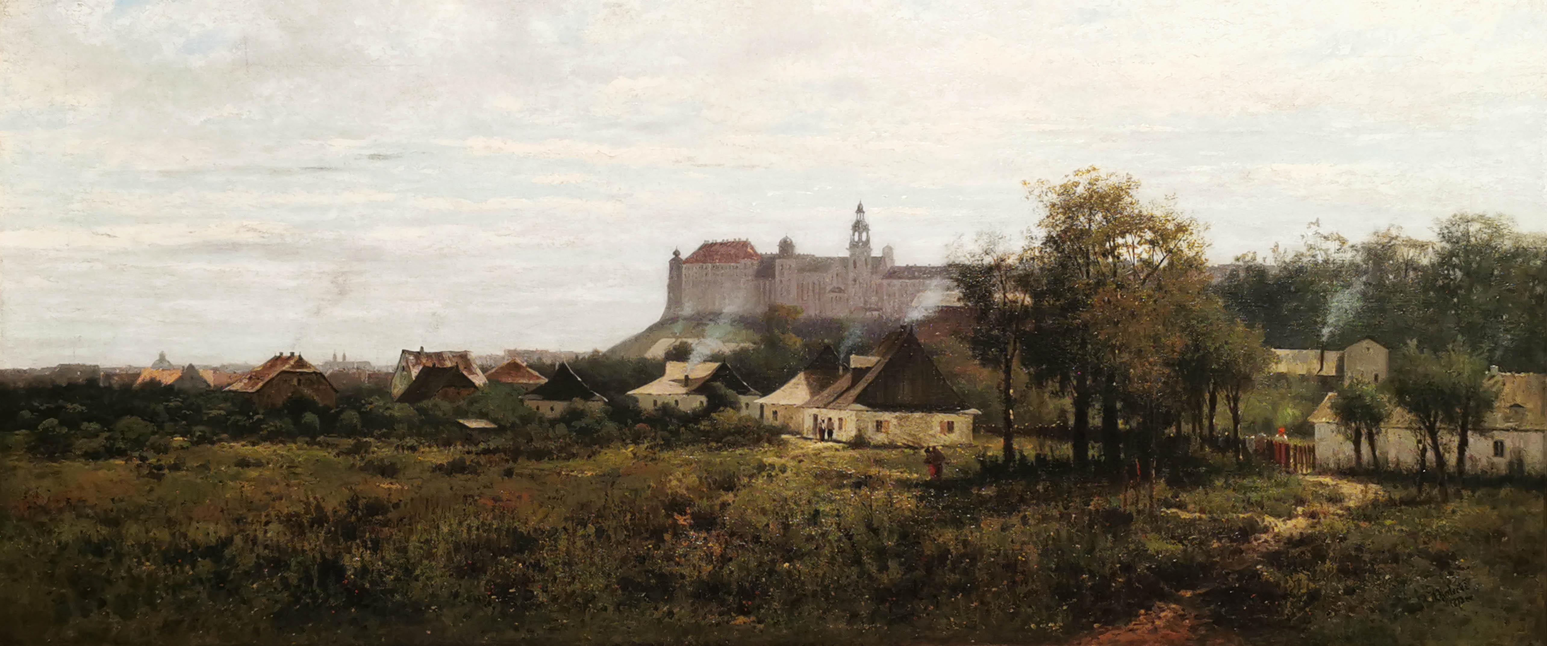 Zamek Królewski w Krakowie, 1873