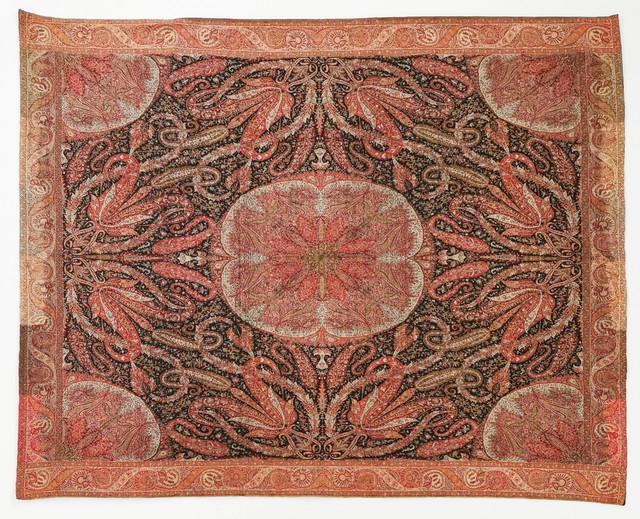 Dekoracyjna tkanina kaszmirowa