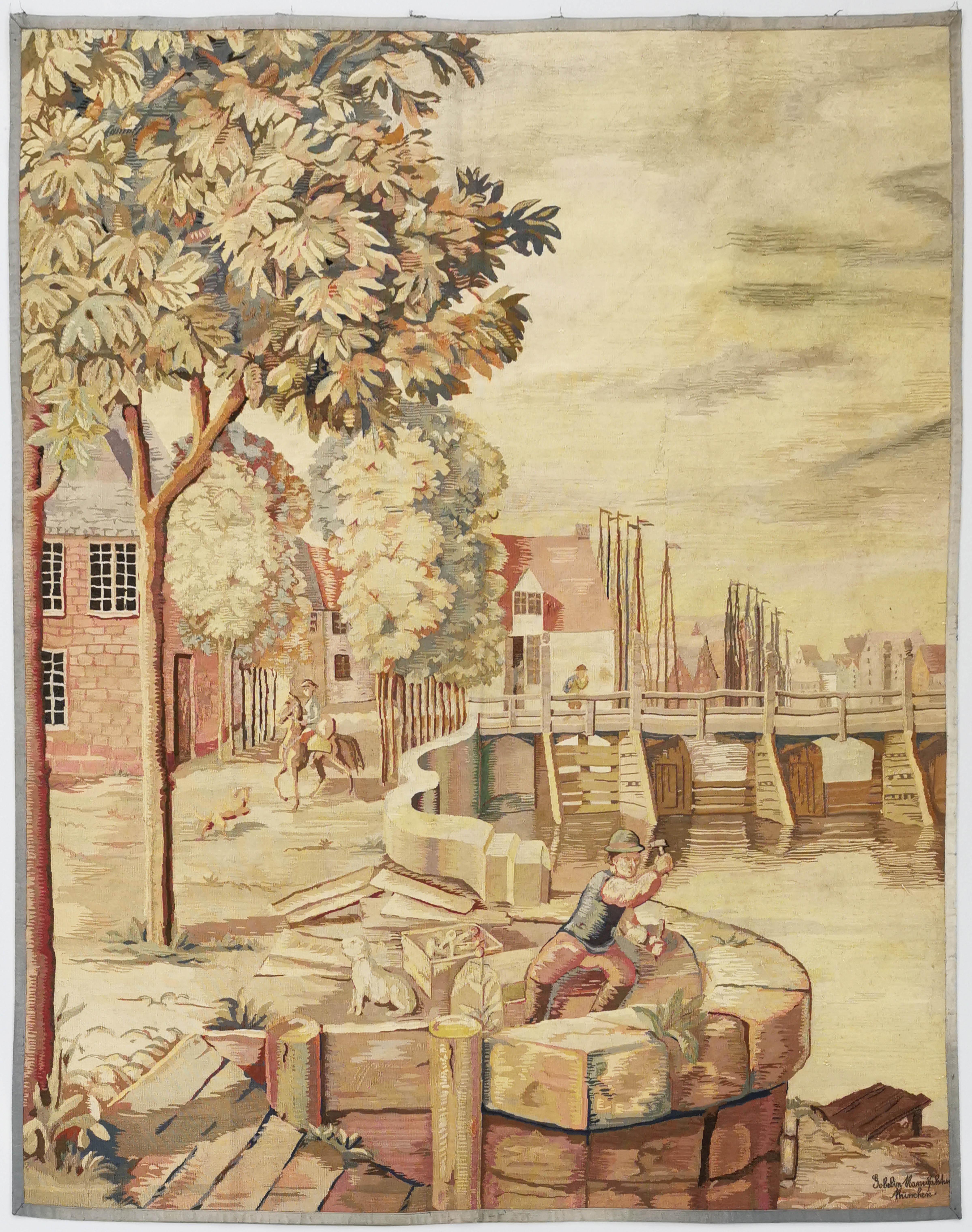 MÜNCHENER GOBELIN-MANUFAKTUR (zał. 1908)
