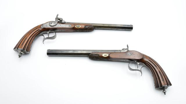 MANUFAKTURA RUSZNIKARSKA FAURÉ - LEPAGE (od 1717; spółka Fauré-Lepage czynna 1865-1913)