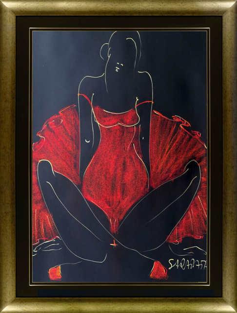 Ballerina w czerwonym kostiumie, 2021