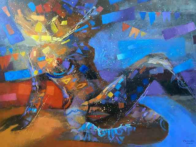 Misteriosos bailes del cuerpo I, 2009