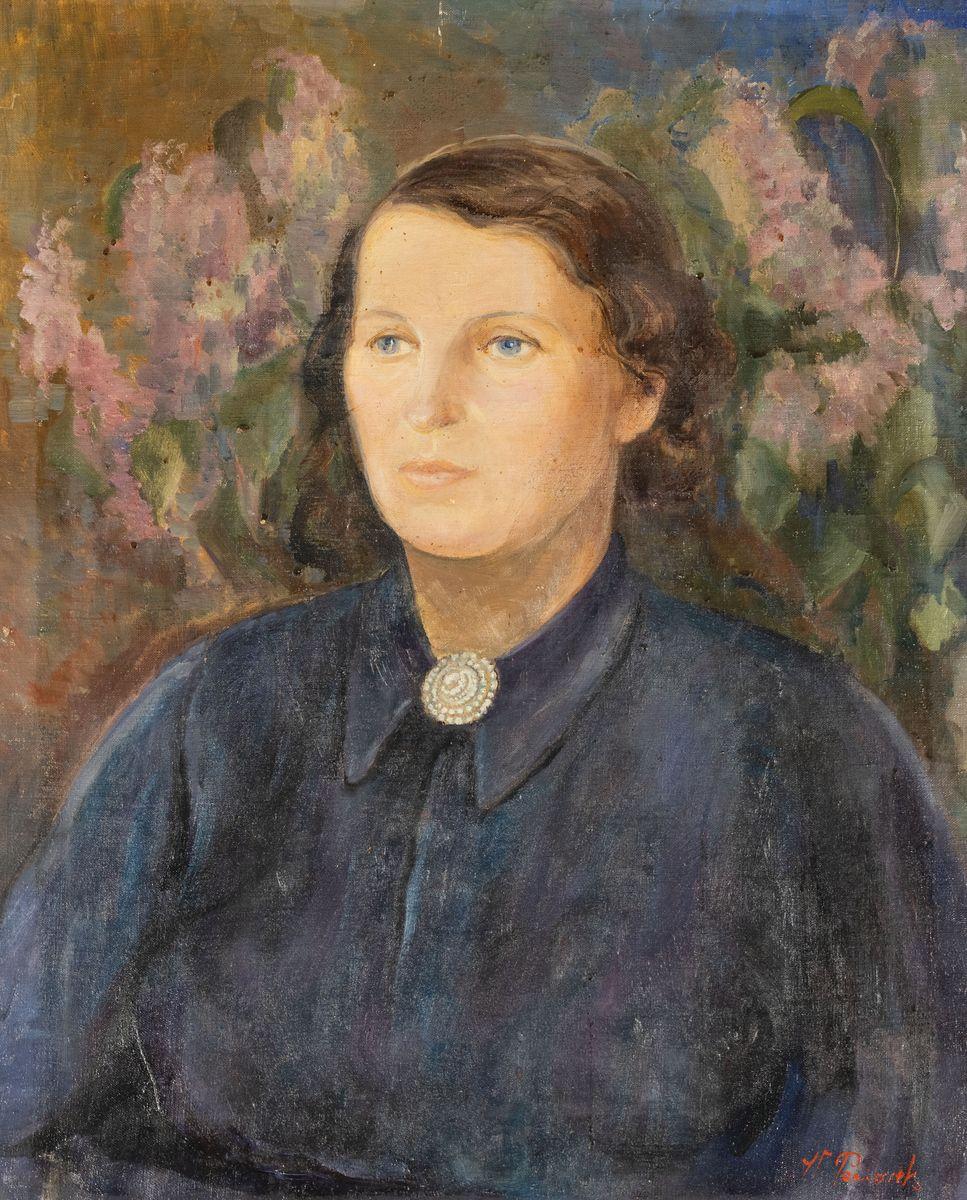 PORTRET KOBIECY, ok. 1900