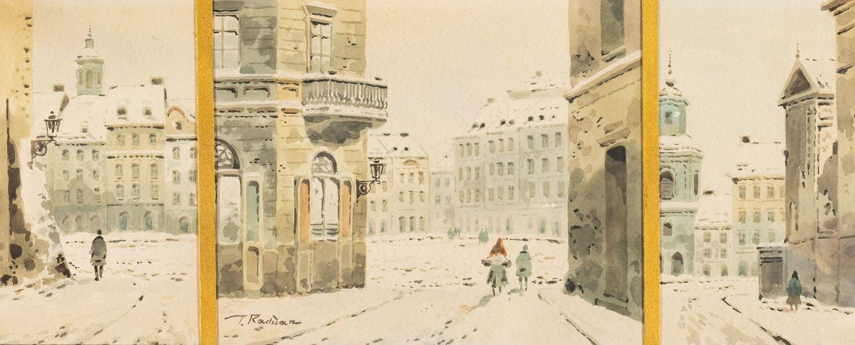 TRYPTYK STAROMIEJSKI, ok. 1930