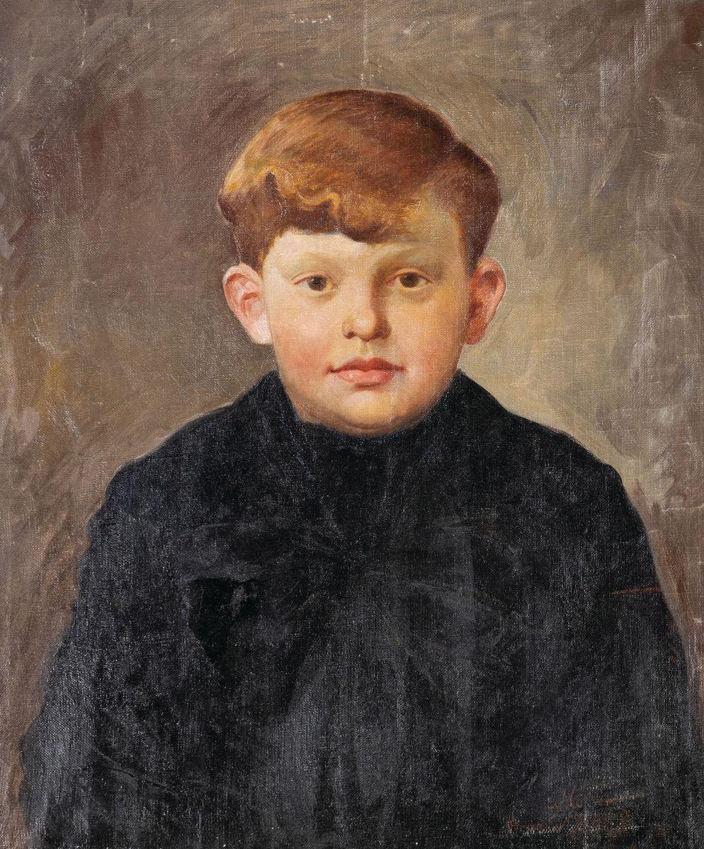 PORTRET RUDEGO CHŁOPCA, 1928