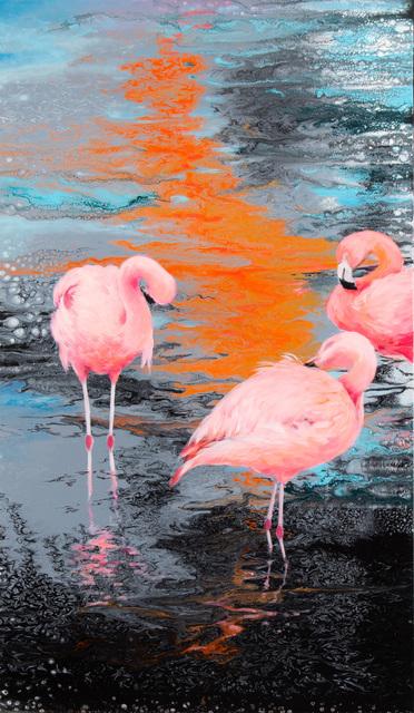 Różowe flamingi, 2021