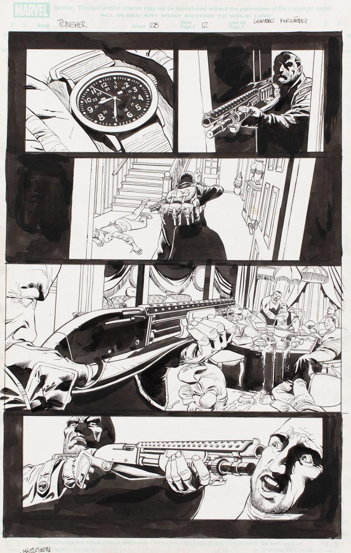"""""""Punisher"""" vol. 7 #28, s.12, 2005"""