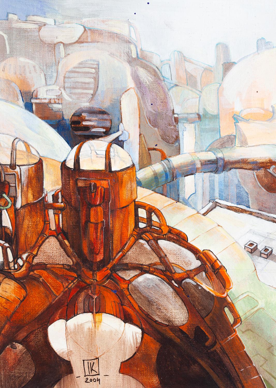 """""""Architektura New Rome"""" kadr do publikacji """"Jutro będzie futro"""", 2004"""