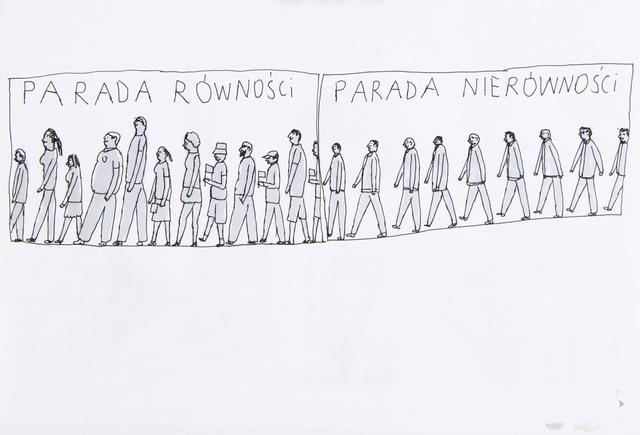 """""""Parada równości / parada nierówności"""", 2017"""