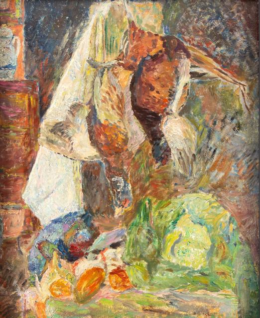 Martwa natura z bażantami, około1939