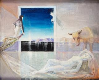 """""""Sen Ariadny II"""" z cyklu """"Ziemia"""", 1985-86"""
