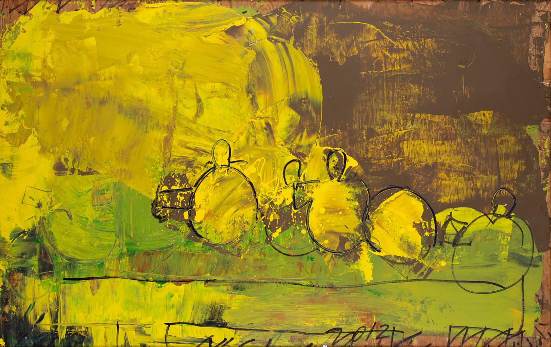 Żółta kompozycja, 2012