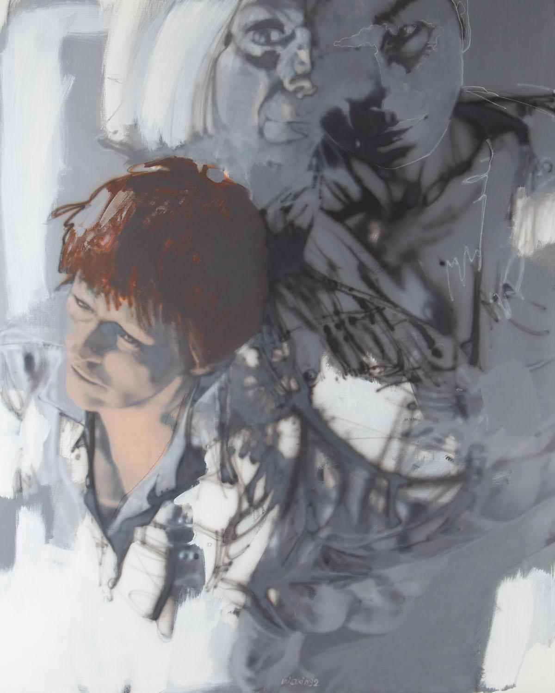 """Bez tytułu z cyklu """"Rozstrzaskania"""", 1992"""