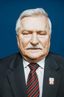 """Lech Wałęsa z cyklu """"Bohaterowie Solidarności"""", 2012"""