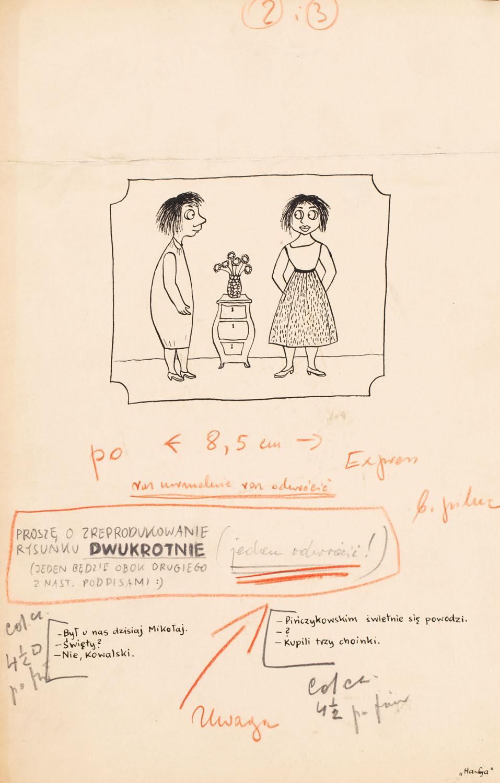 """Bez tytułu, projekt ilustracji do magazynu """"Szpilki"""""""