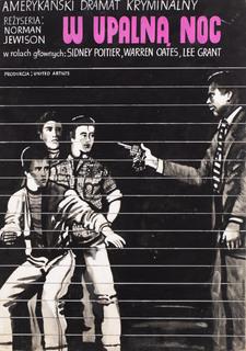 """""""W upalną noc"""" projekt plakatu, 1976"""