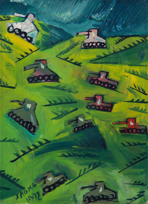 """Bitwa pod Studziankami"", 1992"