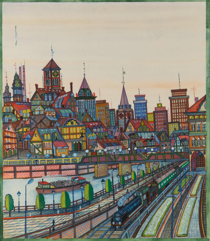Widok Poznania, 1982